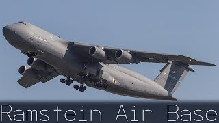 USAF | Ramstein Air Base | Plane Spotting | C-5 / C-17 / KC-10 / C-130J