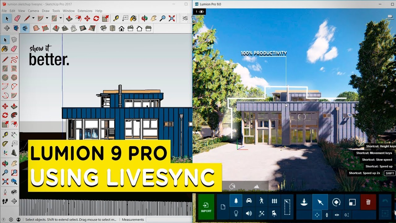 How to Use LiveSync in Lumion 9