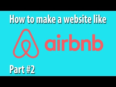How To Create A Professional Website In HTML Part #2 [How To Build A Website Like Airbnb]