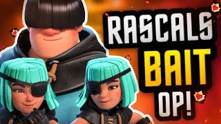 *ALERT* RASCAL META SHIFT! INSANE NEW BAIT DECK in Clash Royale!