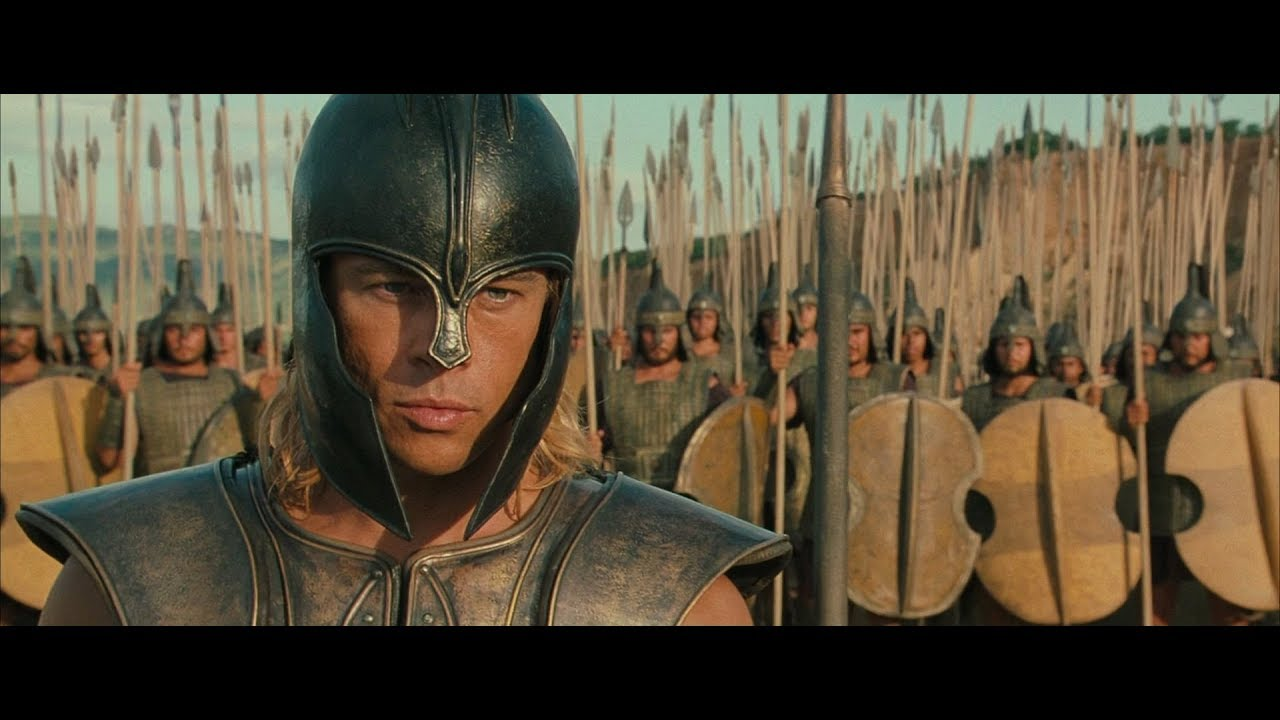 Troy 2004 Achilles Vs Boagrius Movieclips Youtube