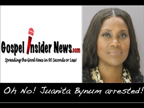 Juanita Bynum arrested! Oh No!