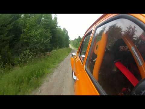 Pontus Tidemand - Test Ford Escort mk1 BDG before Midnattssolsrallyt.