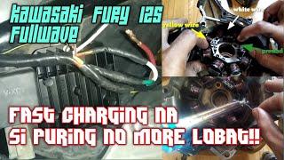 Paano mag Fullwave ng Kawasaki Fury 125 | Fullwave rectifier installation