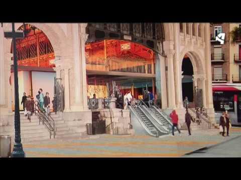 Proyecto de reforma del Mercado Central de Zaragoza