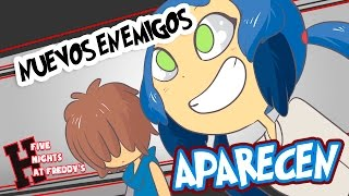 NUEVOS ENEMIGOS #15| SERIE ANIMADA | FIVE NIGHTS AT FREDDY
