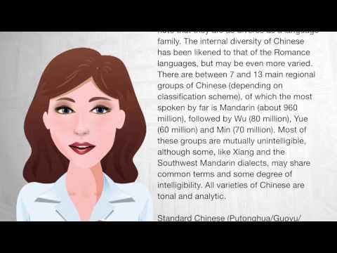 Chinese language - Wiki Videos