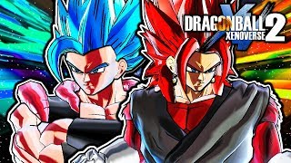 Dragon Ball Xenoverse 2 PC: Generations Vegito & Gogeta DLC Pack Mod Gameplay (ALL TRANSFORMATIONS)