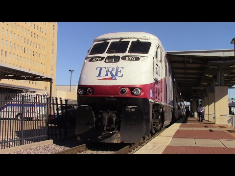 Railfaning Fort Worth T&P, ITC, and Dallas Union Station with lots of rare power - 1/28/17