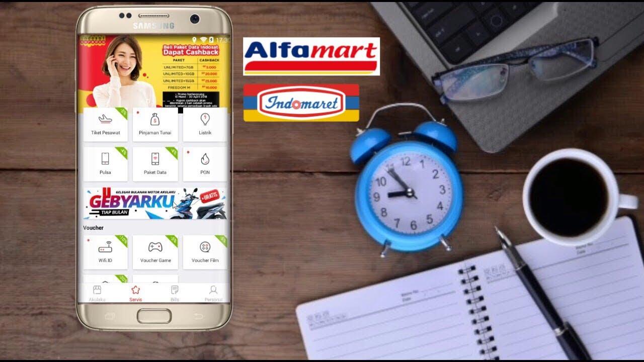 Cara Baru Cairkan Limit Saldo Akulaku Dengan Voucher Alfamart Indomaret 2 Juta Indomart