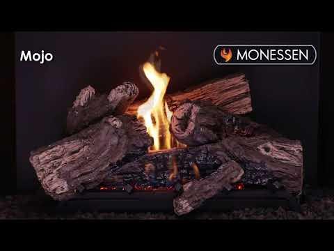 Monessen® Mojo Vent Free Gas Log Set