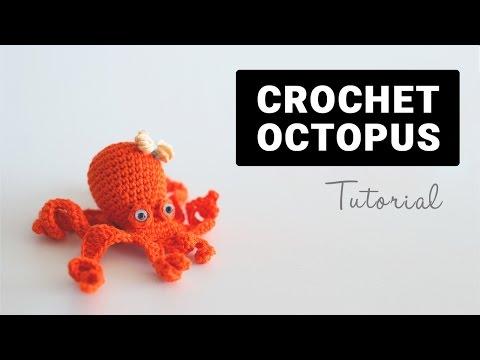 How To Crochet Amigurumi Octopus | Croby Patterns