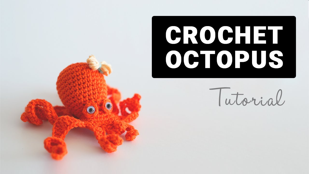 How To Crochet Amigurumi Octopus | Croby Patterns - YouTube