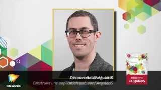 Découverte d'AngularJS : trailer   video2brain.com