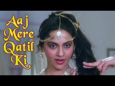 Aaj Mere Qatil Ki - Bollywood Mujra Song | Mohammed Aziz, Anuradha Paudwal | Zahreelay