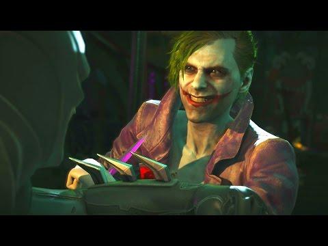 Injustice 2 - Batman Vs Joker - All Intro Dialogue/All Clash Quotes, Super Moves