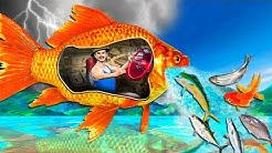 जादुई मछली Magical Fish Comedy Story | Hindi Kahaniya Funny Comedy Video