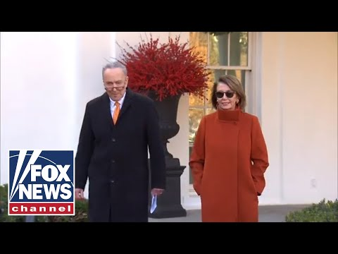 Pelosi and Schumer speak after meeting with Trump