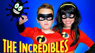 Disney Pixar Incredibles Violet and Dash Coronavirus Safety, Staying Healthy, and Having Fun at Home