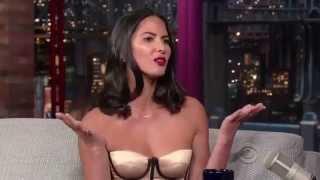 Video Olivia Munn on David Letterman 27 August 2013 download MP3, 3GP, MP4, WEBM, AVI, FLV Agustus 2018