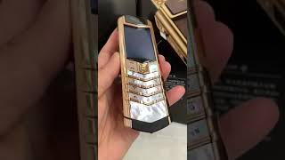 2019 vertu signature s design red gold phone mobile price
