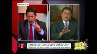 Fernando del Rincon deja en Ridículo al Presidente Juan Orlando Hernández