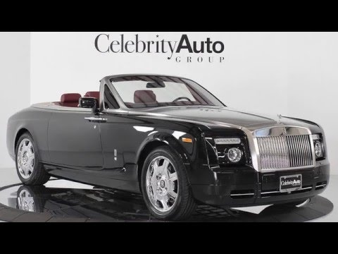 2017 rolls royce phantom drophead coupe depth review youtube. Black Bedroom Furniture Sets. Home Design Ideas