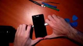 Sony Xperia Z1 Compact - LCD Digitizer Replacement, Reassembly Tutorial
