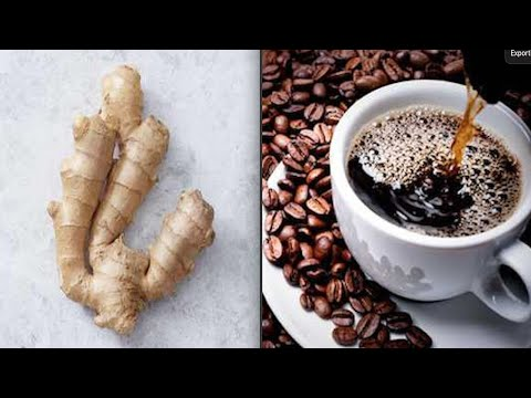If You Mix ginger with coffee It Will get rid of belly fat completely Like Crazy !
