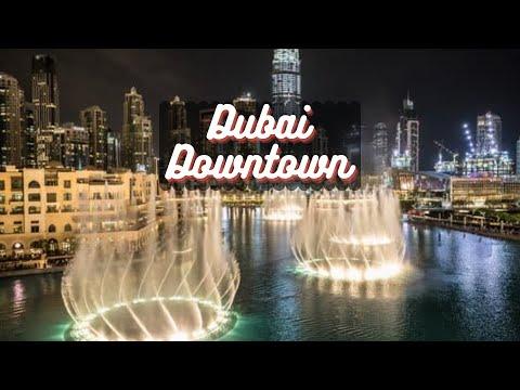 Drive around evening  Dubai downtown 2020// ডুবাই  এর সব চেয়ে সুন্দর শহর