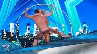¡AMOR, PELIGRO y ACROBACIAS, la combinación PERFECTA! | Audiciones 2 | Got Talent España 5 (2019)