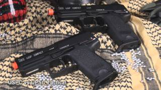 airsoft gi kwa h usp compact tactical gas blowback pistol
