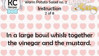 Warm Potato Salad No. 2 - Kitchen Cat