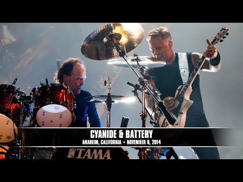 Metallica: Cyanide and Battery MetOnTour  Anaheim, CA   Blizzcon  2014