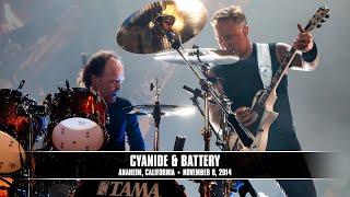 Metallica: Cyanide and Battery (MetOnTour - Anaheim, CA -  Blizzcon - 2014)