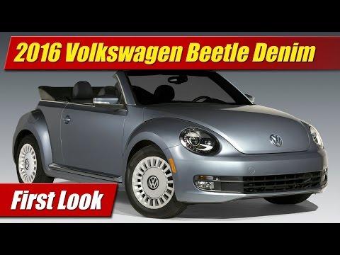 First Look: 2016 Volkswagen Beetle Denim