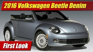 Volkswagen Beetle Denim 2016 Videos