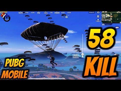 58 KILL DÜNYA REKORU ( World Record ) PUBG Mobile KILL RECORD HACK