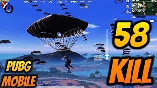 58 KILL DÜNYA REKORU ( World Record ) PUBG Mobile KILL RECORD HACK