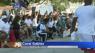 Protest Held in Coral Gables