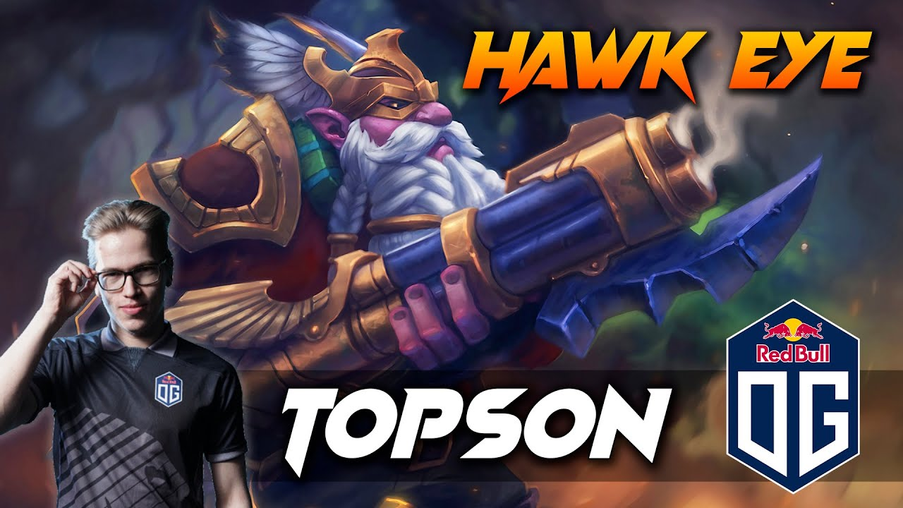 TOPSON HAWK EYE SNIPER – Dota 2 Pro Gameplay [Watch & Learn]