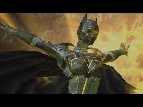 Injustice: Gods Among Us - Cassandra Cain Batgirl Super Attack Moves [iPad/Android]