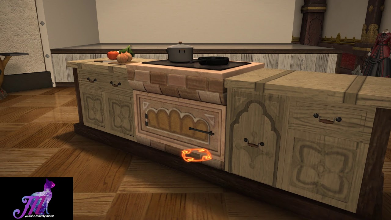 Ffxiv Southern Kitchen Housing Item Youtube