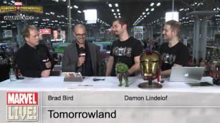 Damon Lindelof and Brad Bird of Tomorrowland Bring the Good Vibes and Talk the Movie at NYCC 2014