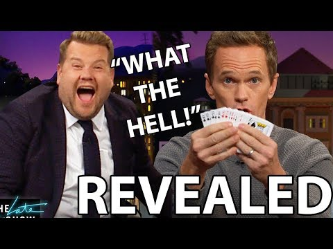 Neil Patrick Harris Late Late Show | REVEALED (With James Corden)
