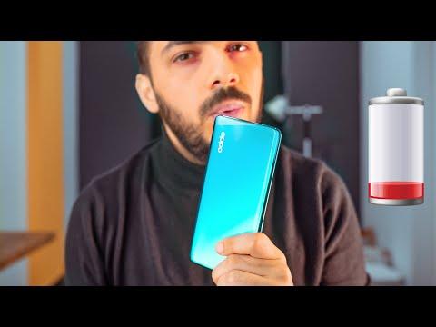 تجربة حقيقية صادمة لبطارية الموبايل الاكثر مبيعاً.. Oppo Reno 3