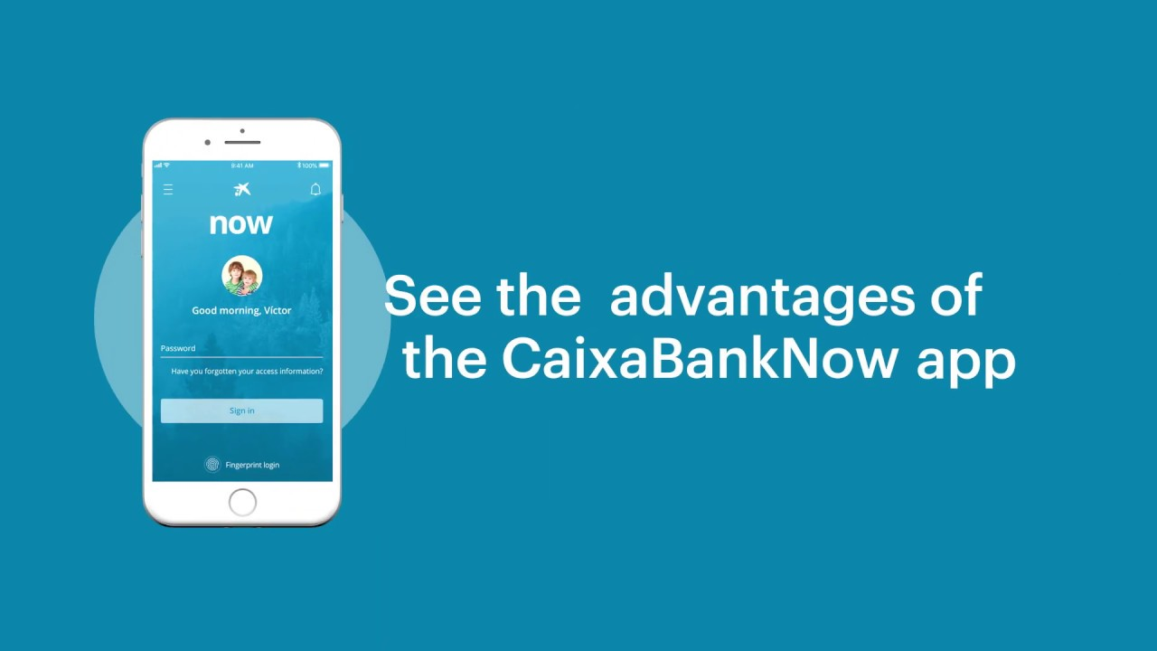 App CaixaBank: Make transfers with just a click