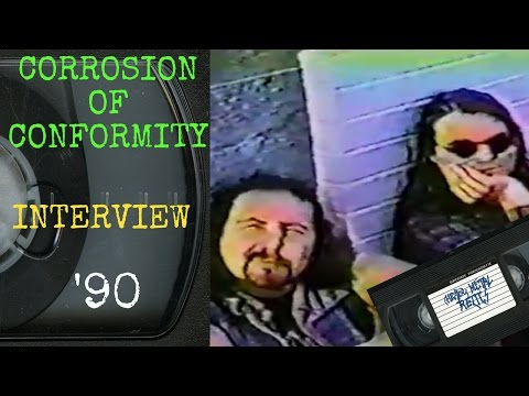 Corrosion Of Conformity Interview April 7 1990 with Pepper Keenan, Reed Mullin