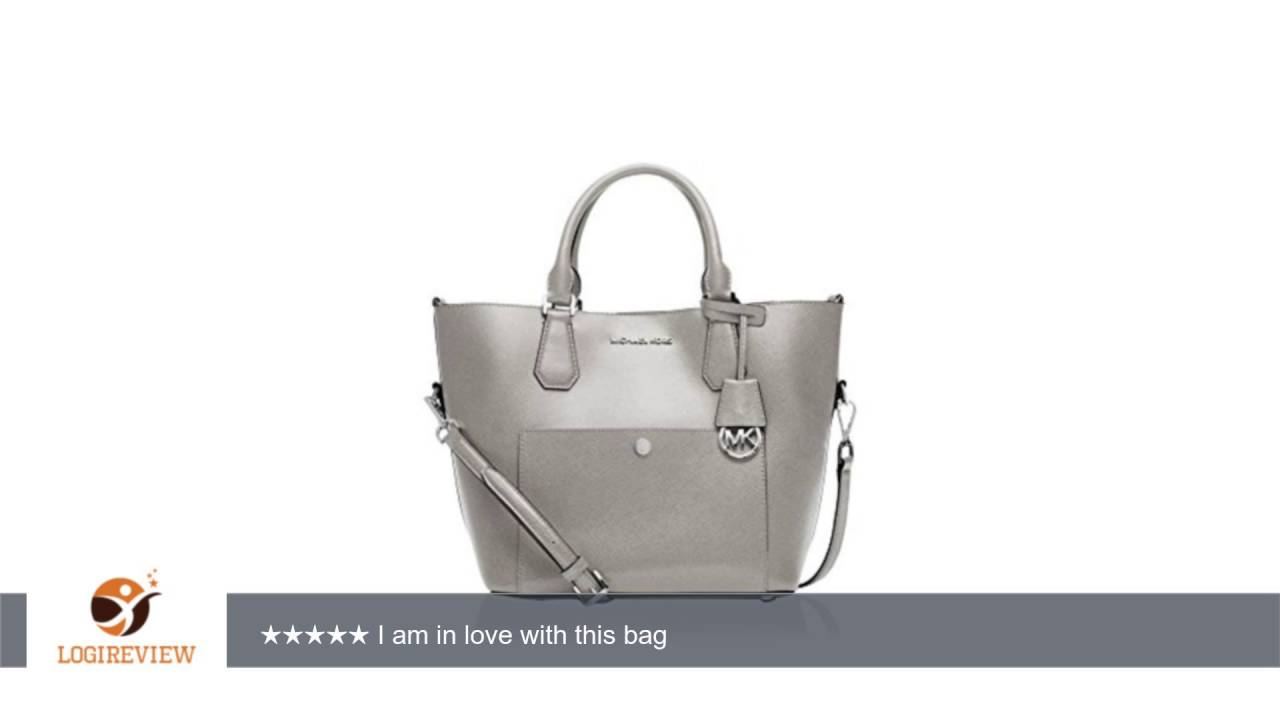 79c99fd8d279c3 MICHAEL Michael Kors Greenwich Large Grab Bag | Review/Test - YouTube
