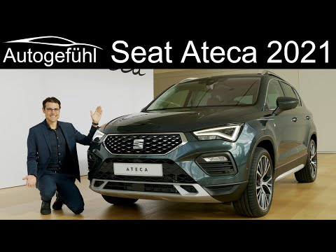 new Seat Ateca Facelift PREVIEW Exterior Interior 2021 model Ateca Xperience - Autogefühl